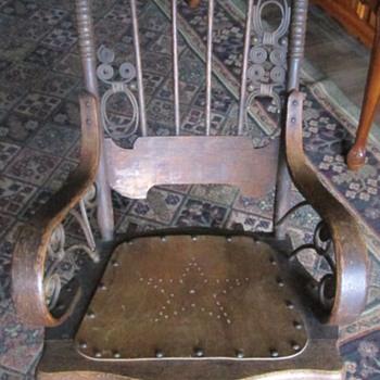 Beautiful old rocking chair