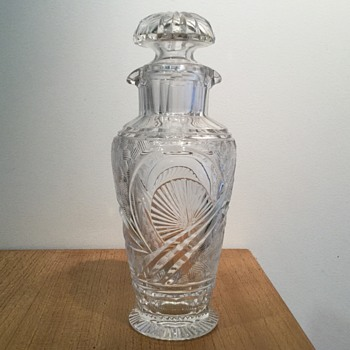 CZECH COCKTAIL SHAKER - PALDA? - Art Glass