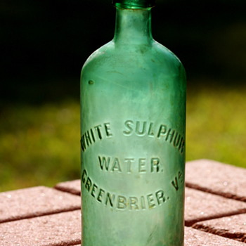 ~~~~Old mineral water bottle~~~~