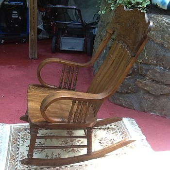 Old Hand Made Rocking Chair Need Help Finding More About It!