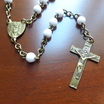 Rosary made in Czechoslovakia - Fine Jewelry