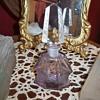 Amethyst Czech perfume bottle