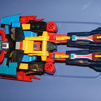 1980's?  pretansformer it has Takara marking on the robots legs - Toys