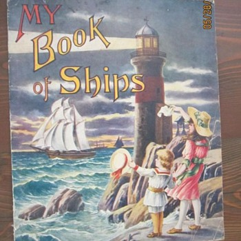 """My Book of Ships"" 1919 - Books"