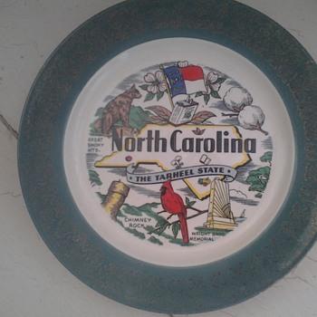 homer laughlin north carolina plate  - China and Dinnerware