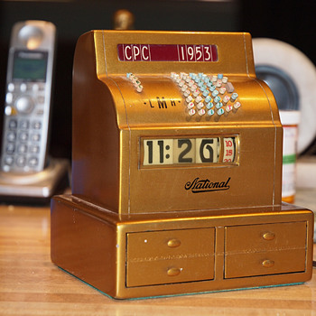 Another One,  1953 NCR Cash Register Award Cyclometer.