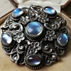 Moonstone brooch ? 1930s