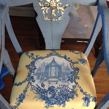 Bought at auction with dinner chairs - Furniture