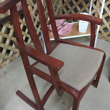 unique looking rocking chairs