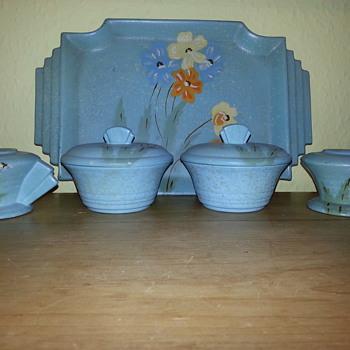 Art Deco Dressing Table Set - Art Deco