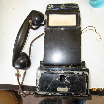 Antique Pay Phone - Telephones