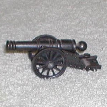 "Bronze Miniature ""Victory"" Cannon Replica - Toys"