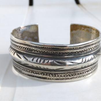 Tunisian 900 Silver Men's Cuff Bracelet - Fine Jewelry