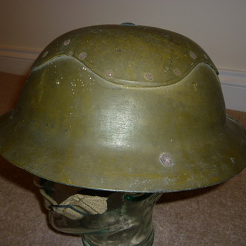 WW11 British Civil Defence helmet