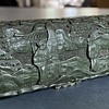 Antique Chinese box with metal compartments
