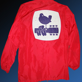 Original Felco WOODSTOCK 1969 Red Security Jacket  - Mens Clothing