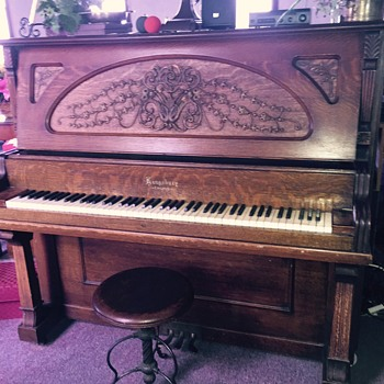 Kingsbury Piano - Musical Instruments