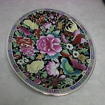 ASIAN FLORAL PLATTER - Asian