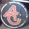 Unknown antique porcelain AG sign