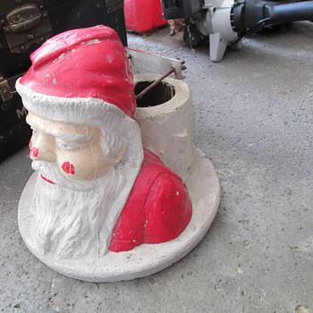 santa christmas tree stand - Christmas