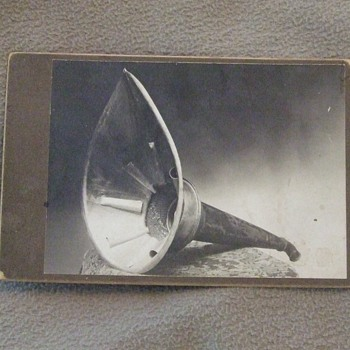 Ear Trumpet or some sort of filter or funnel?? - Photographs