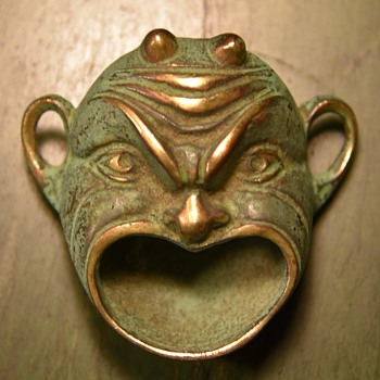 Bronze Face - Big Mouth! - Art Deco
