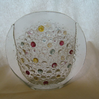 'Asteroid' vase by J.S.Drost - Art Glass