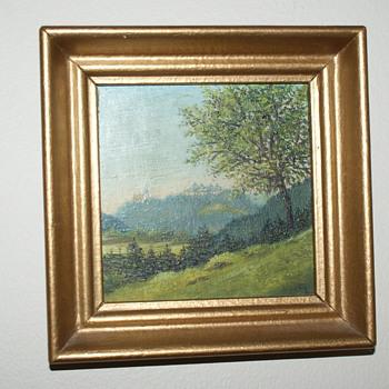Painting:  Agustusburg - Fine Art