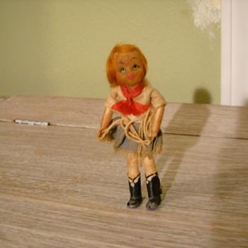 Tiny Cowgirl  - Dolls