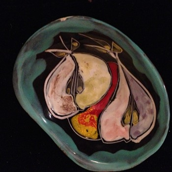 Painted Pottery Bowl - Pottery