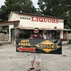 1955 matched pair NOS SUNOCO signs.