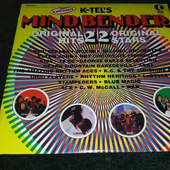 K-Tel Records..'Mindbenders'...On 33 1/3 RPM Vinyl - Records