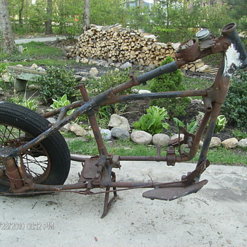 Indian motorcycle frame - Motorcycles