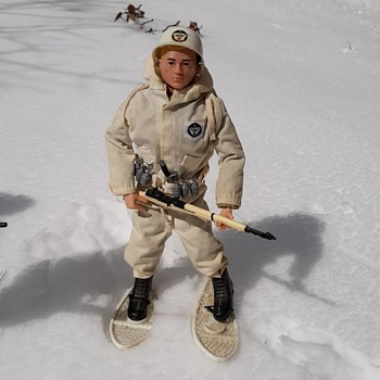 Playing GI Joe in the Snow - Toys