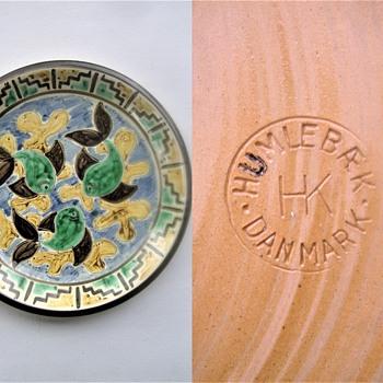 'Fish dish' - Pottery