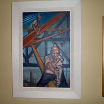 SOME OF OUR ART DECO PAINTINGS IN OUR COLLECTION
