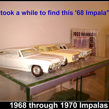 This 1968 Impala was hard to find and expensive but worth it!