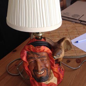 Very Rare Bossons Desert Hawk Lamp - Figurines