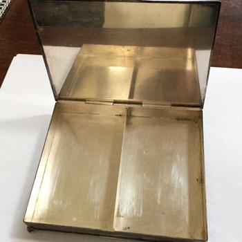 Vintage Silver Plate Card or Cigarette Box - Tobacciana