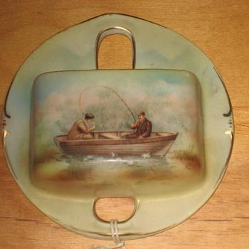 Porcelain Matchbox Holder - Pottery