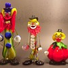 Clowning Around - Murano Glass Clowns