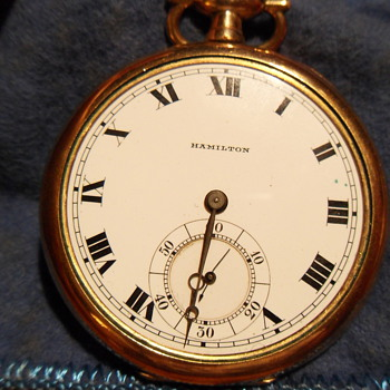 Hamilton Pocket Watch - Pocket Watches