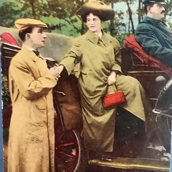 The Uber of yesteryear! - Postcards
