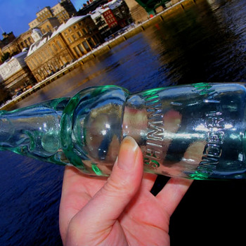 Shimmin's patent codd bottle Sunderland - Bottles