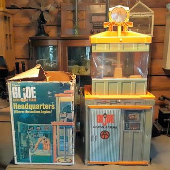GI Joe Adventure Team Headquarters With Box 1972-197x Part One - Toys