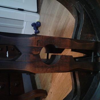 Mill Wheel Table - Furniture