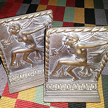 Art Nouveau Bookends - Art Nouveau
