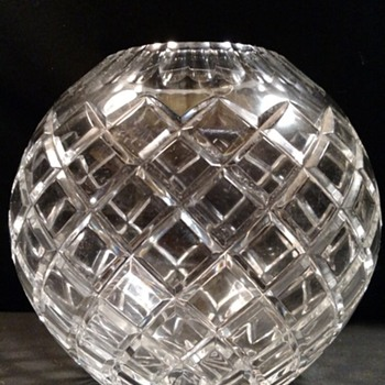Rose vase - Glassware