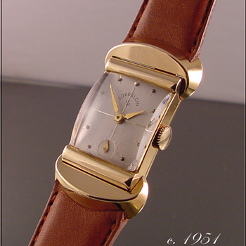 Lord Elgin 21-Jewel, 18k Solid Gold Wristwatch - Wristwatches