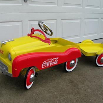 Coca Cola Pedal Car - Coca-Cola